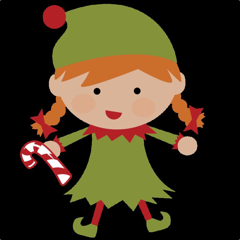 svg freeuse christmas elves