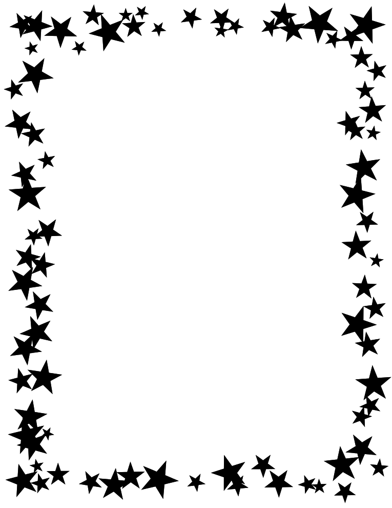 graphic transparent download Clipart stars borders. Free christmas garland download