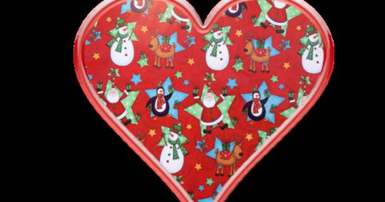 clip stock Christmas heart clipart
