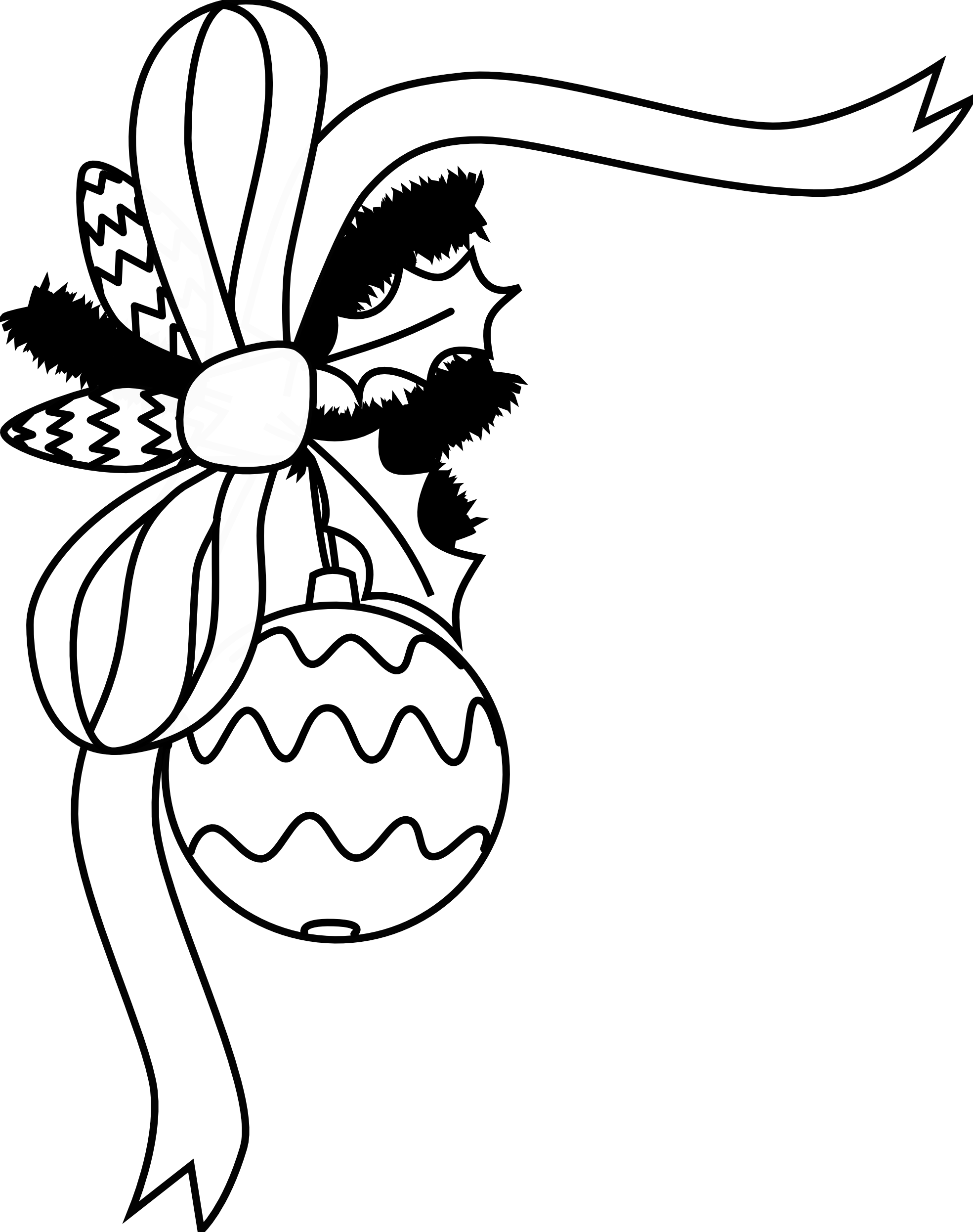clipart black and white stock Christmas balls drawing at. Vacation clipart black and white