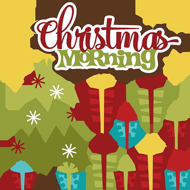 jpg transparent download Christmas Morning Clipart