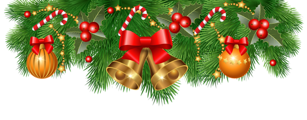 banner library library Christmas Border Decoration PNG Clipart Image