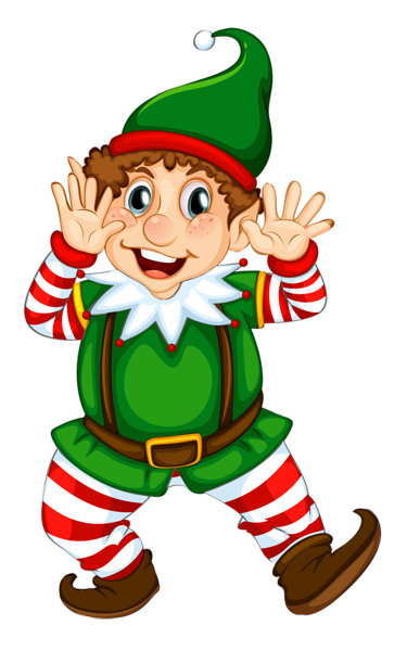 clip art transparent library Transparent Christmas Elf