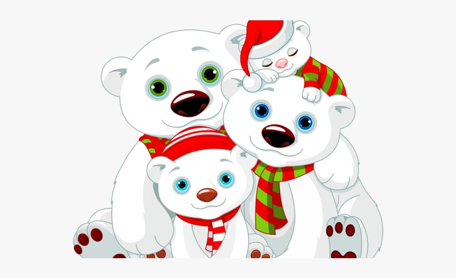 graphic Family . Christmas polar bear clipart