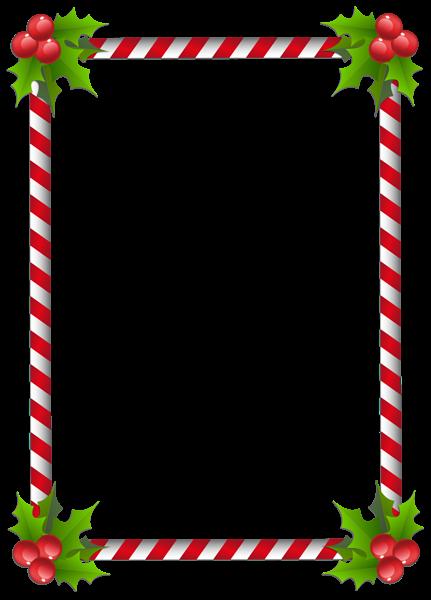 clip art free Christmas Transparent Classic Frame Border