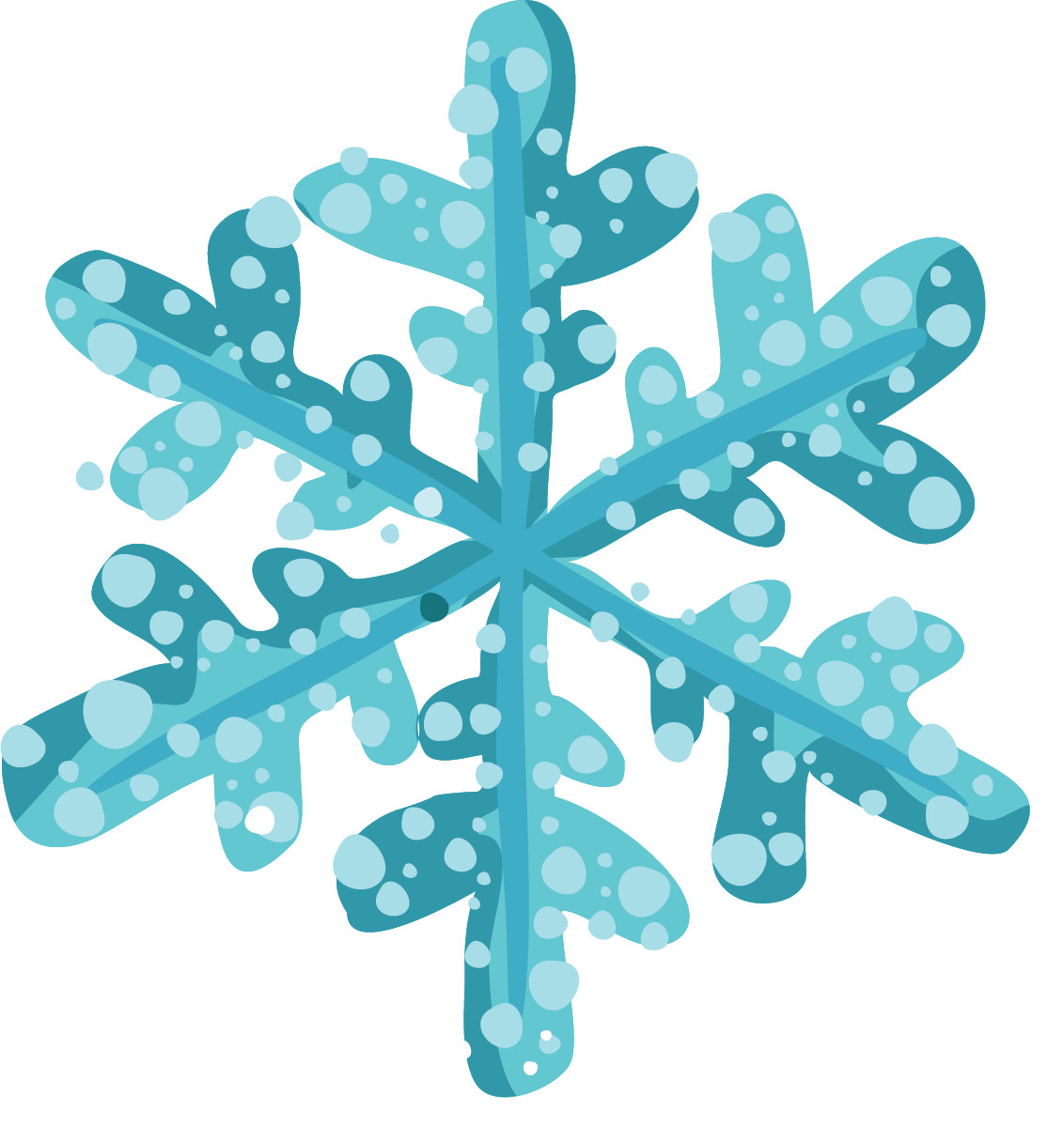 picture Free snowflake clipart. Christmas snowflakes for clipartix