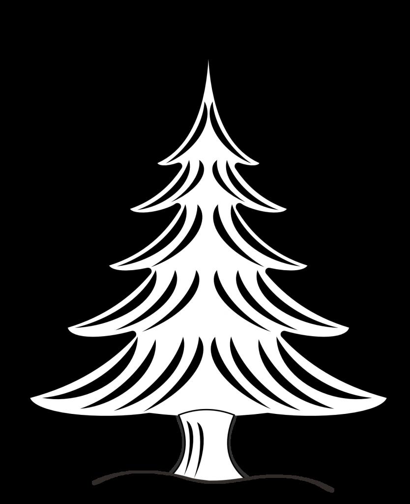 jpg Christmas Star Clipart Black And White