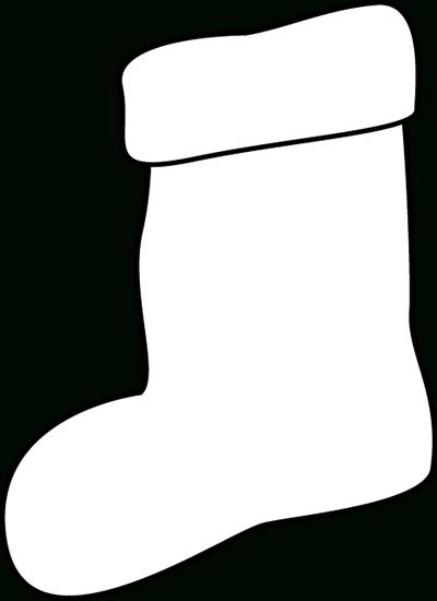 jpg free stock Stockings sanjonmotel clip art. Christmas stocking clipart black and white