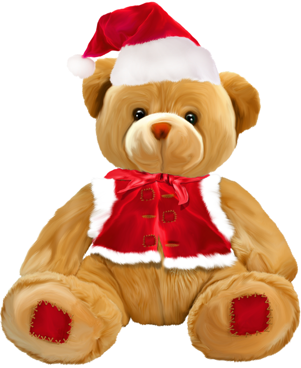 clipart royalty free library Png gallery yopriceville high. Christmas teddy bear clipart