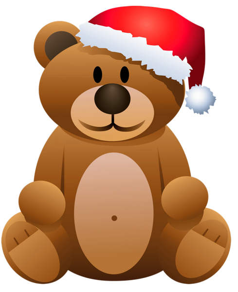 clipart Christmas teddy bear clipart. Gallery png