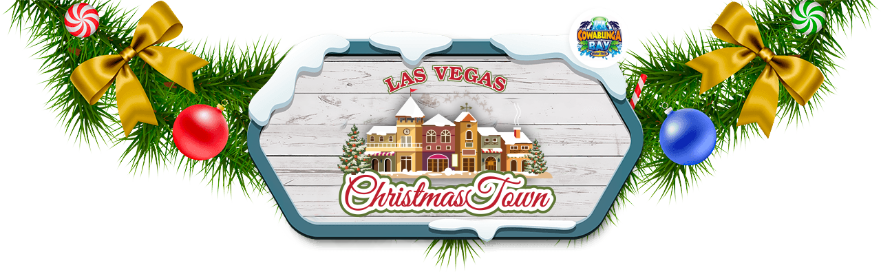 image royalty free library Las Vegas Christmas Town