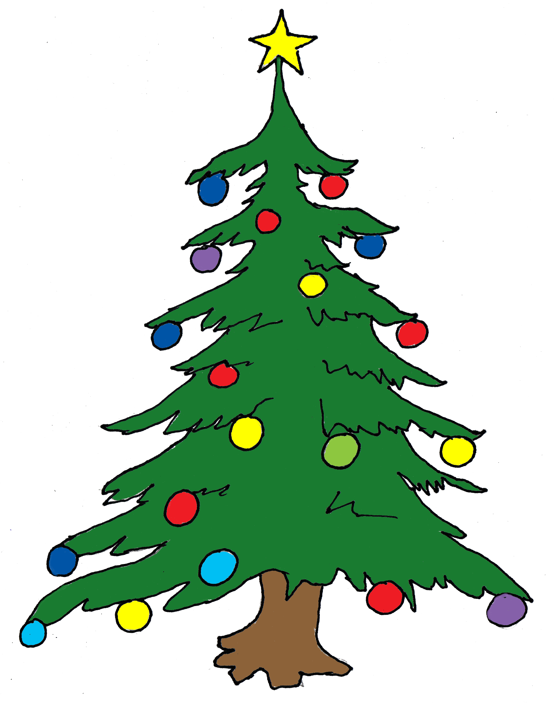 banner freeuse download Christmas Tree Free Clipart