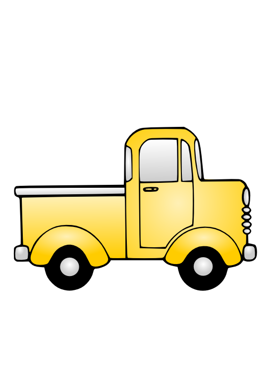 graphic freeuse download Toy Truck Clipart