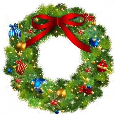 clip free stock Clip art free vector. Christmas wreath clipart