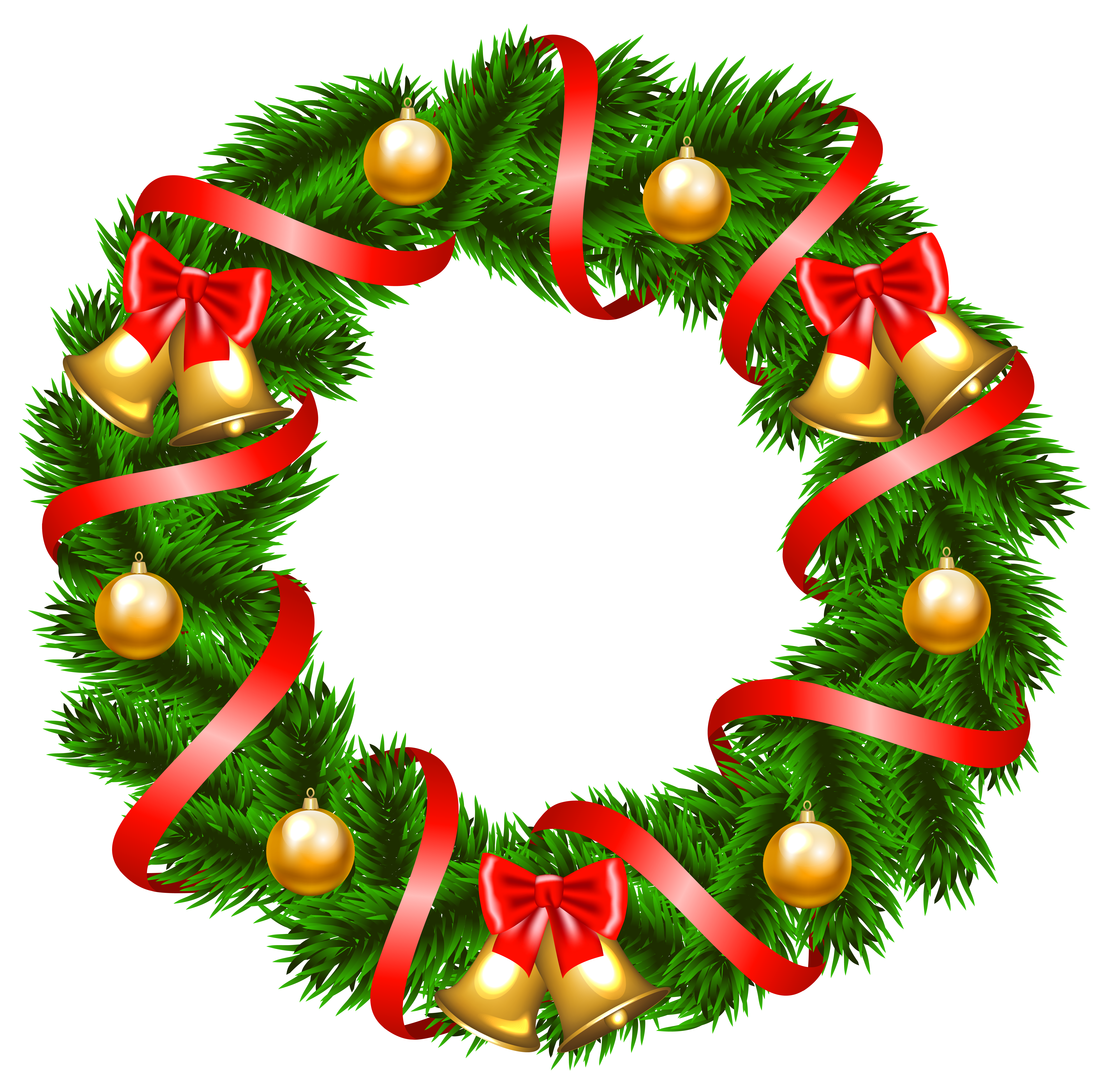 png transparent stock Christmas wreath clipart black and white. Decorative png image gallery
