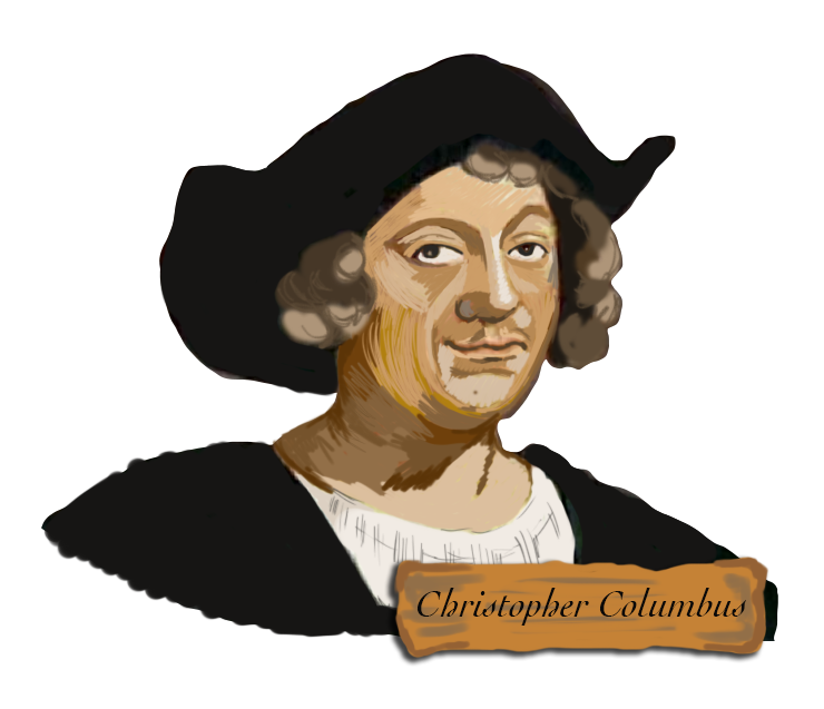 image free stock Christopher columbus clipart. Discovers eng explorers social