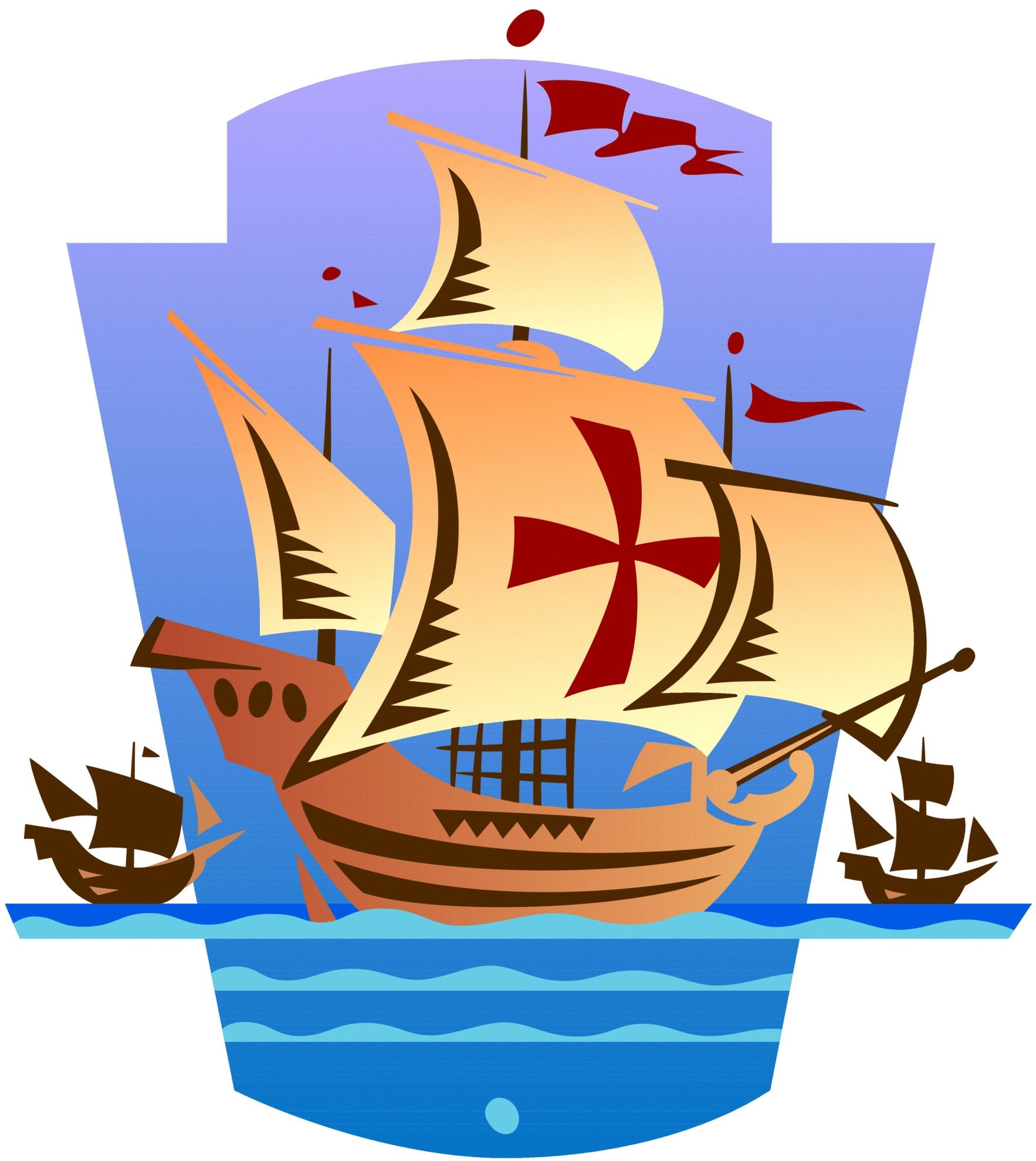 banner transparent library Free clip art download. Columbus clipart columbus day.