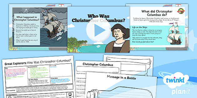 graphic freeuse Great explorers ks who. Christopher columbus clipart ks1.