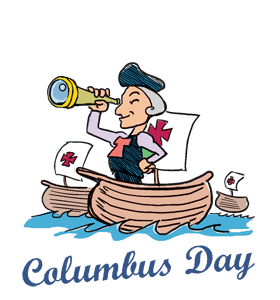 png black and white library Christopher columbus clipart october 12. Transparent png .