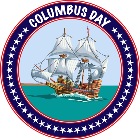 clipart freeuse Christopher columbus clipart october 12. Event calendar heritage harley.