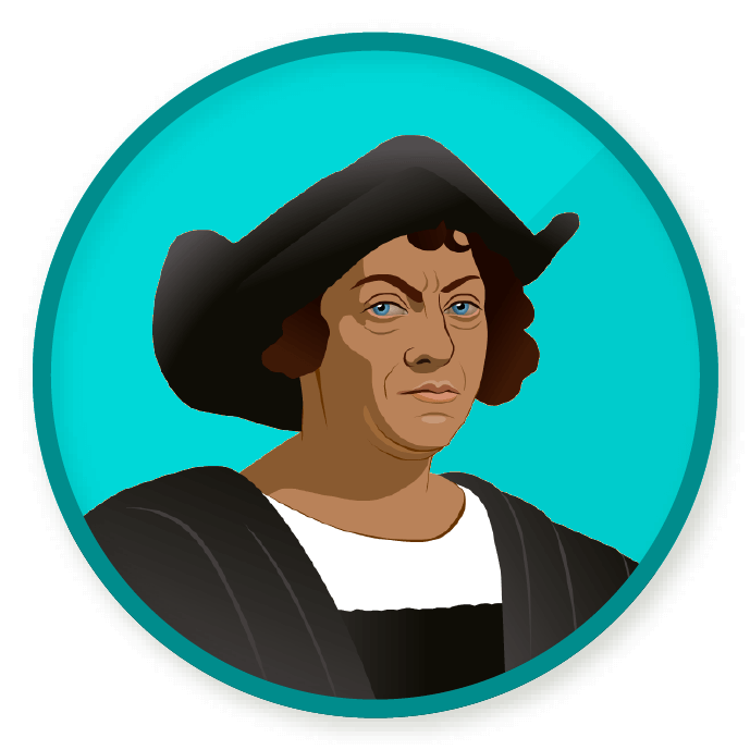 clip art free download Wittywe win a badge. Christopher columbus clipart transparent.