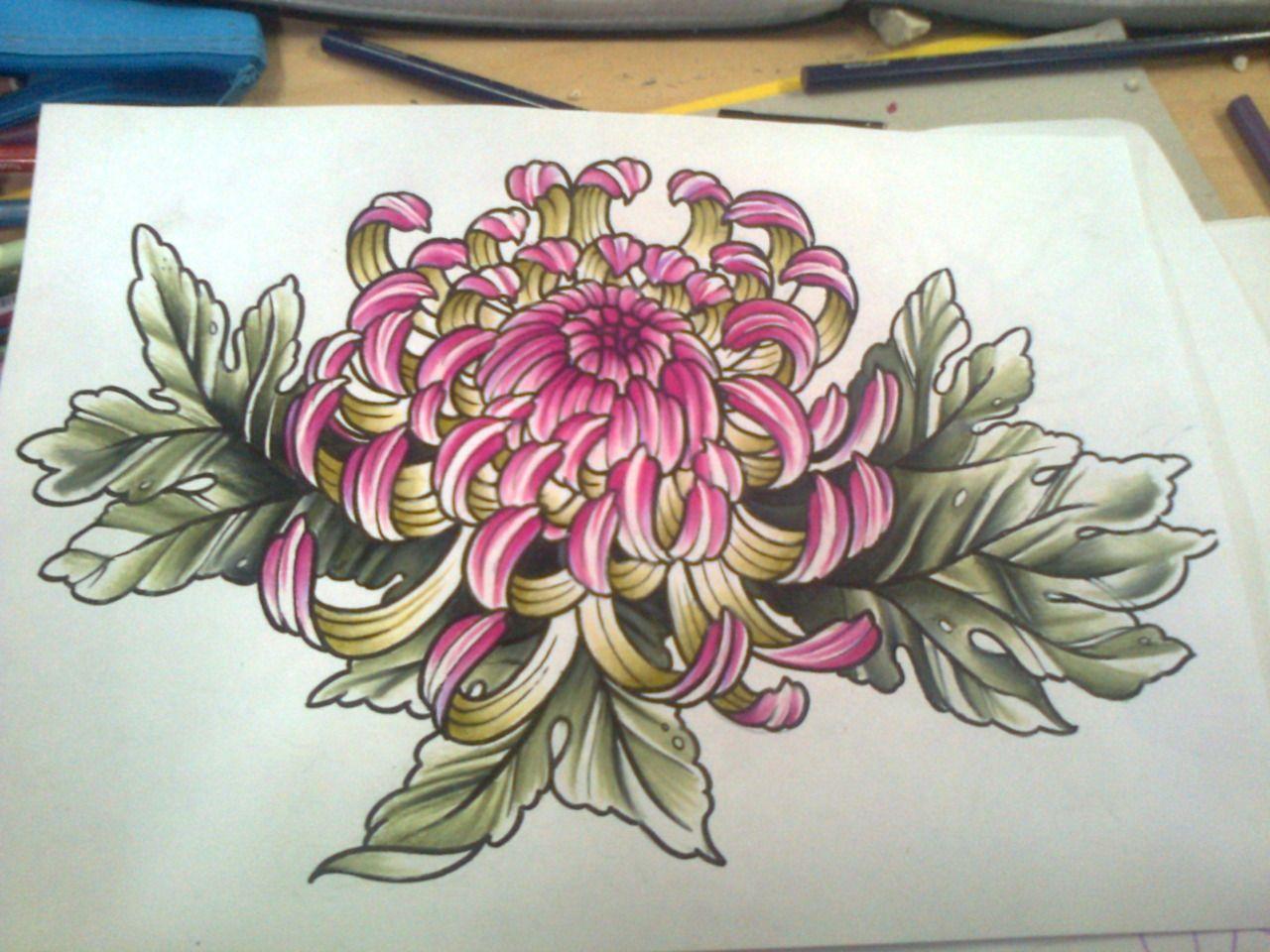 clip transparent library Chrysanthemums drawing oriental flower. Chrysanthemum tattoo