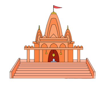 jpg royalty free library Church clipart hindu.  collection of temple.