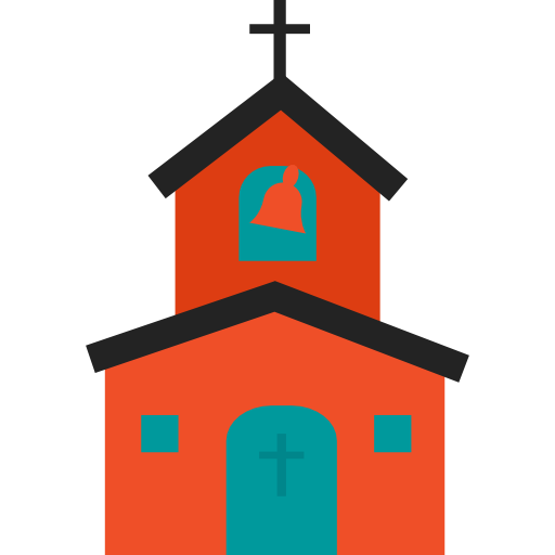 svg royalty free library Church clipart monastery. Icon png svg