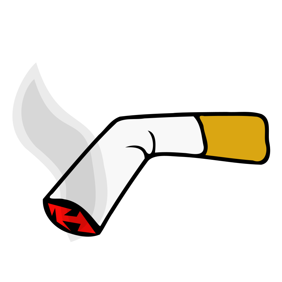 vector royalty free . Cigarette clipart.