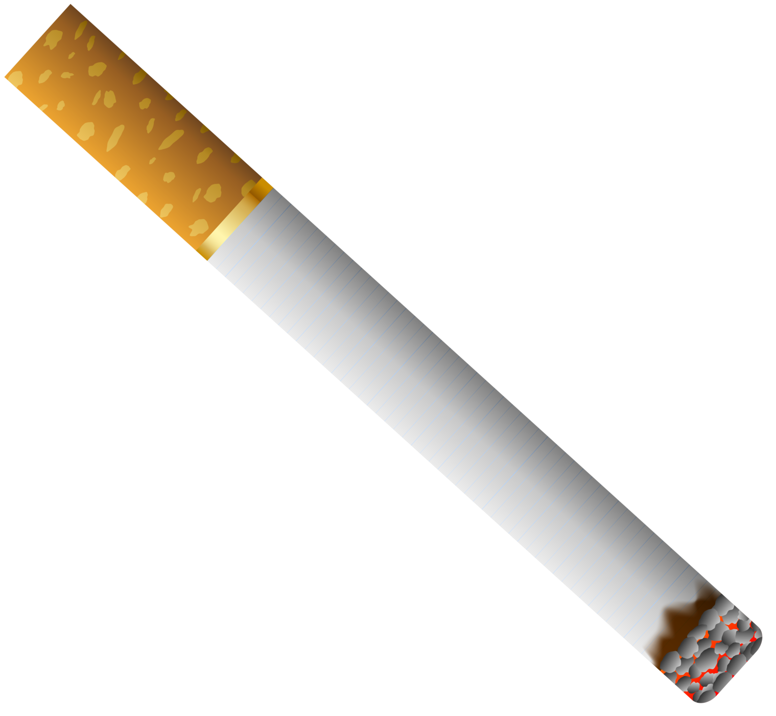 library Cigarette clipart. With filter png .