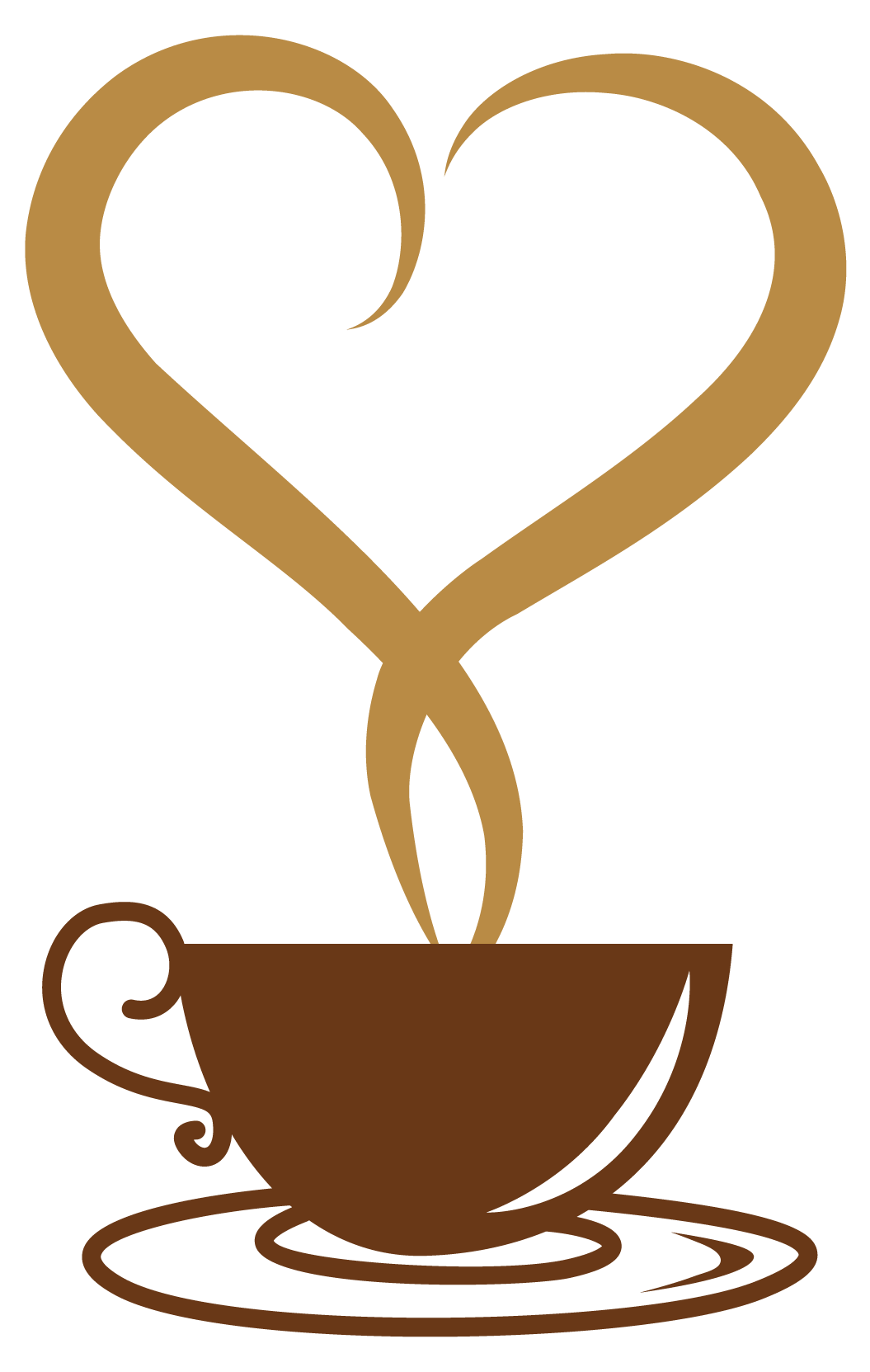 vector freeuse download Coffee Mug With Heart PNG Transparent Coffee Mug With Heart