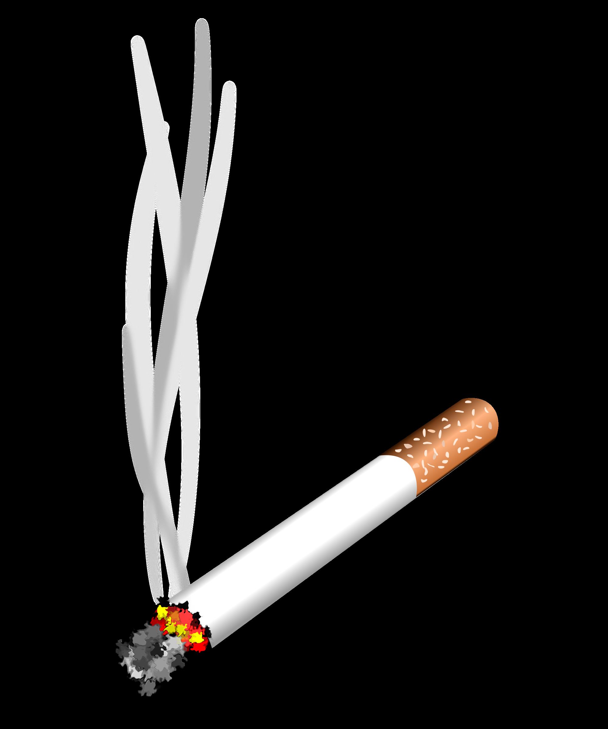 clip library download transparent cigarette lit #116665805