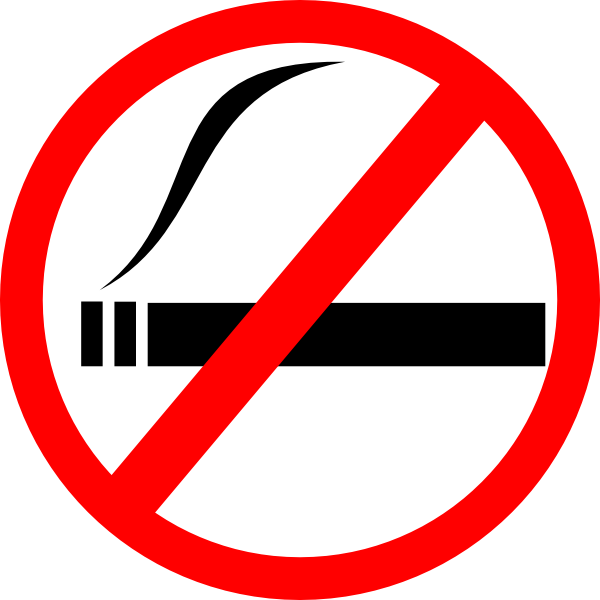 vector transparent stock No Smoking Clipart cigarette