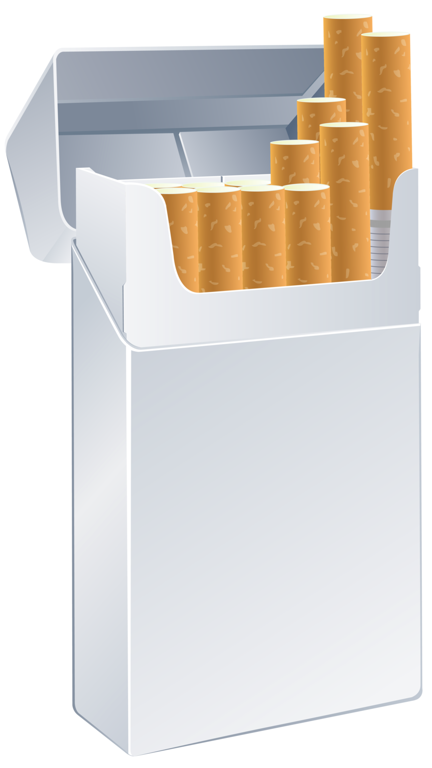 freeuse Cigarette pack clipart. Box template png