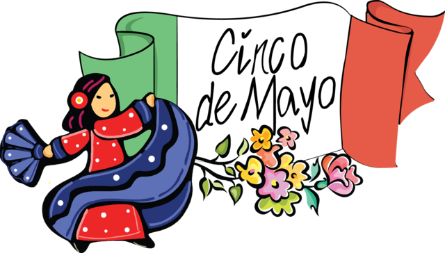 svg black and white download Holidays of the world. Cinco de mayo clipart.