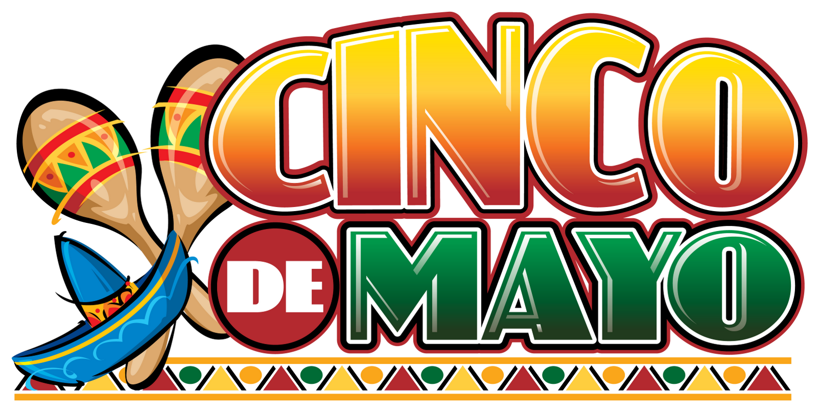 graphic black and white Free Cinco De Mayo Clip Art Pictures
