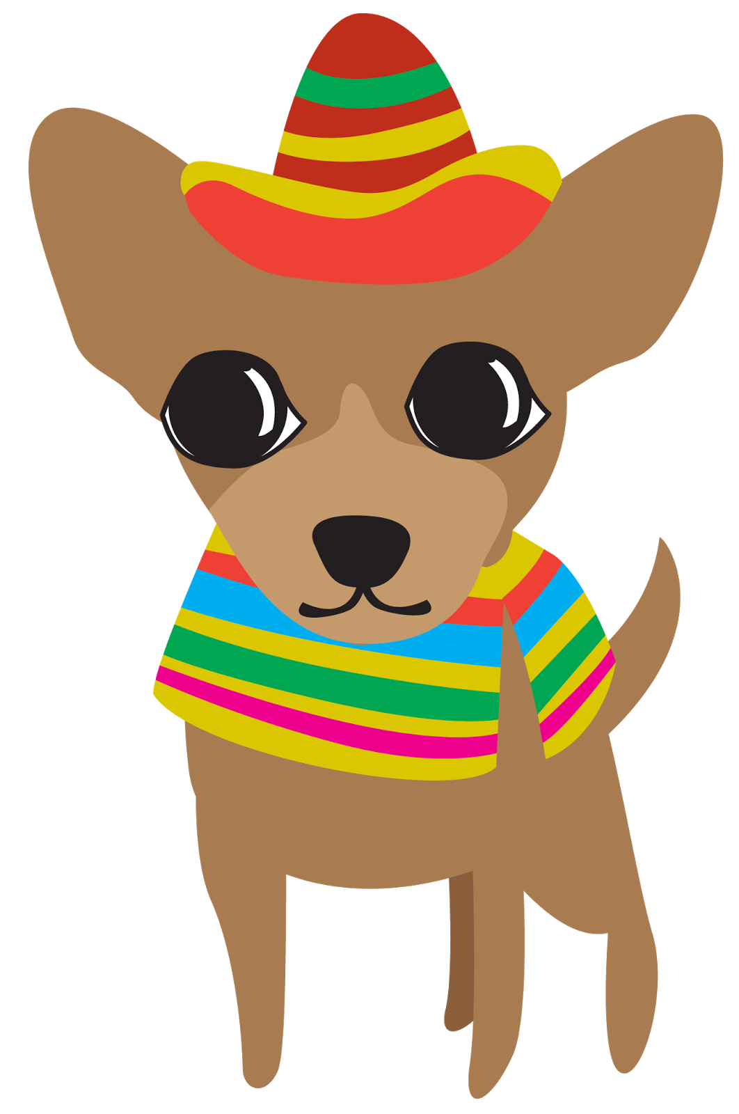 svg freeuse library Chihuahua free on dumielauxepices. Cinco de mayo clipart.