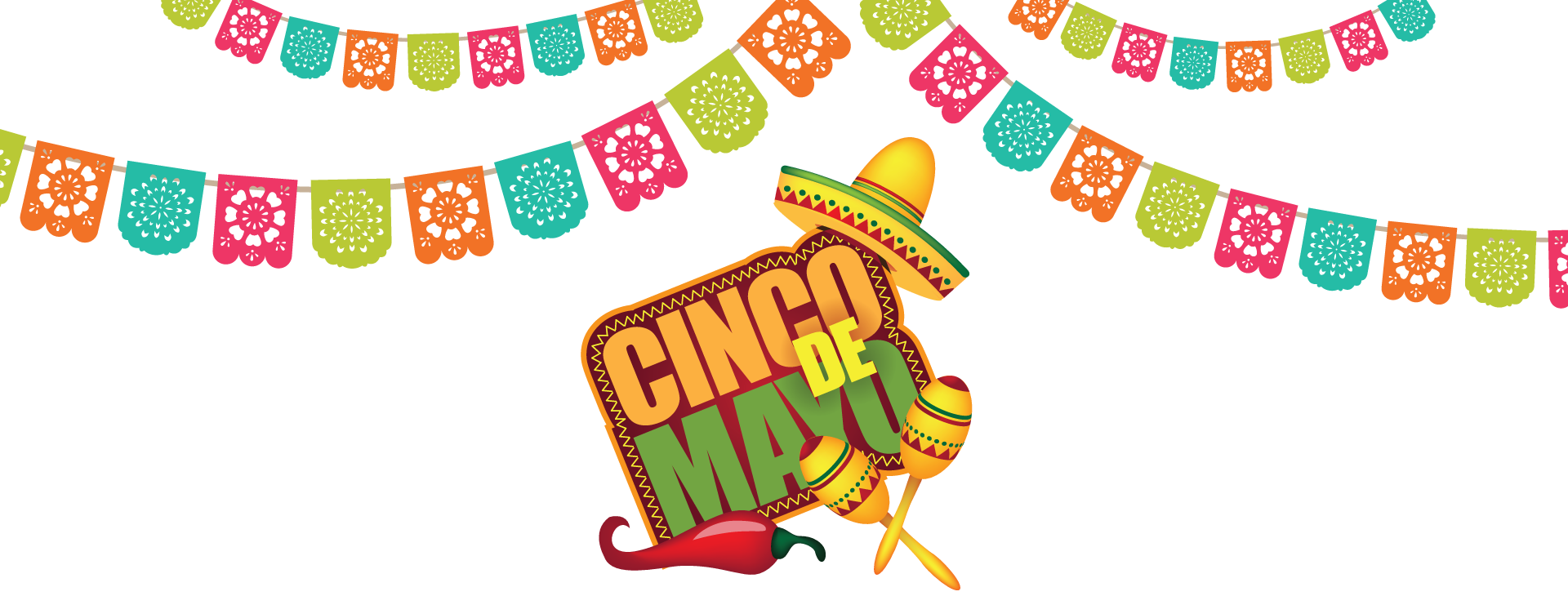 picture stock Posada cincodemayologoheader. Banners transparent cinco de mayo