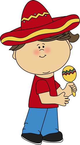 picture download Girl with a Maraca Clip Art