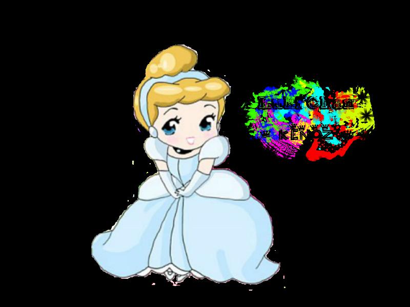 image transparent download Render by rikorocky on. Cinderella clipart chibi