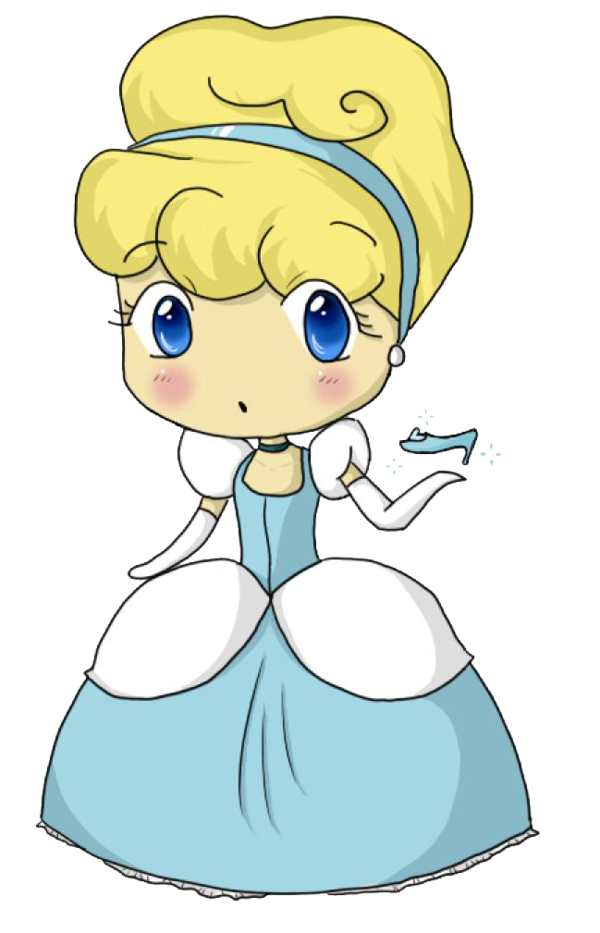 jpg stock By puccanoodles on deviantart. Cinderella clipart chibi