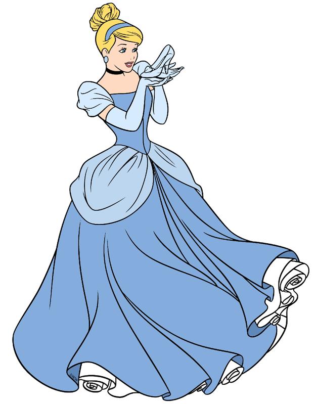 clipart black and white library Cinderella clipart glass slipper. Clip art disney galore.