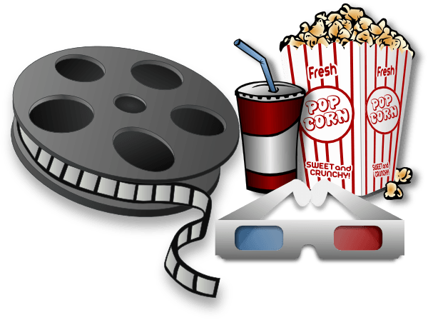 black and white library Cinema clipart. Free movie cliparts download.