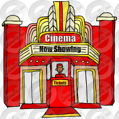 vector transparent download Cinema clipart. Picture for classroom therapy.