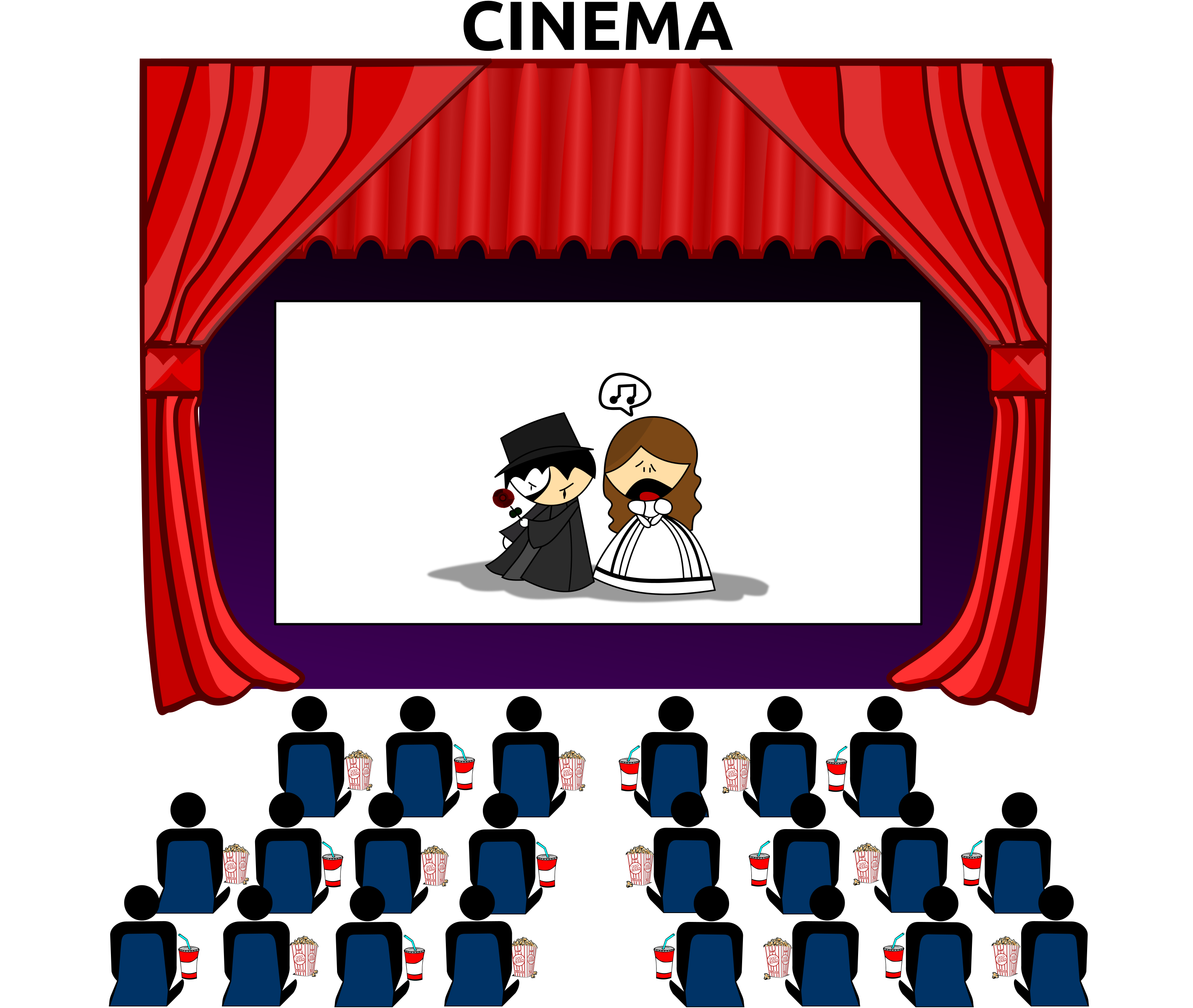 png library download Cinema icons png free. Theater clipart theatre seating