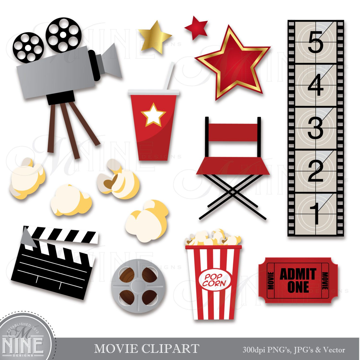 clip black and white stock Clip art download theater. Cinema clipart movie party.