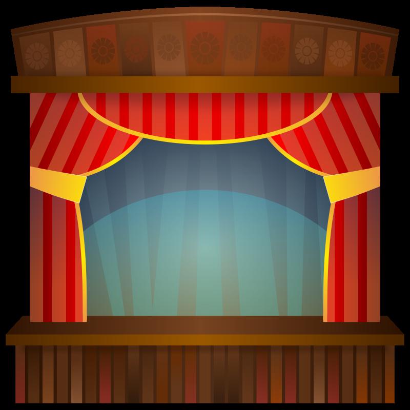 svg transparent Stage Clipart