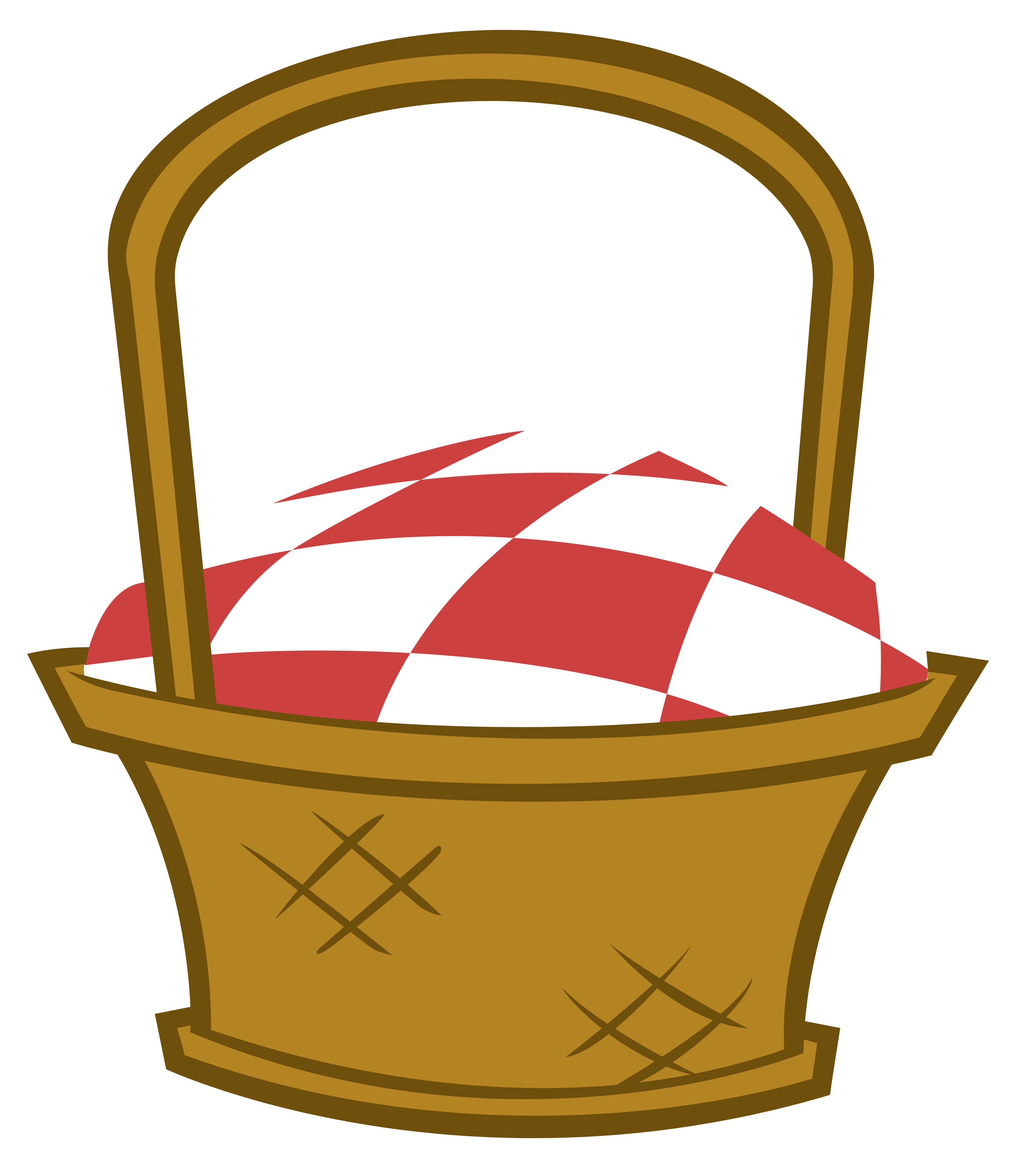 svg library download Cinnamon roll clipart. Picnic basket with ants