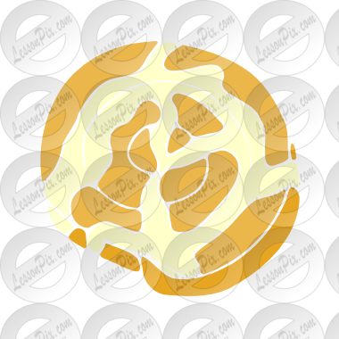 picture freeuse library Cinnamon roll clipart. Stencil for classroom therapy