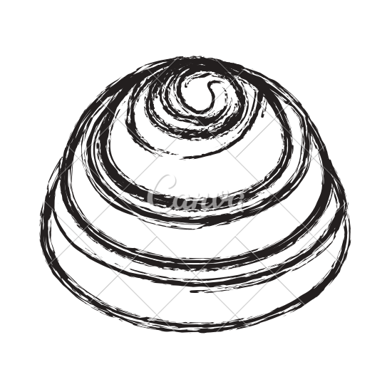 jpg library Cinnamon roll clipart adorable. Drawing at getdrawings com.